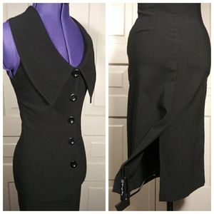 Folter wiggle dress pencil nugoth corpgoth pinup